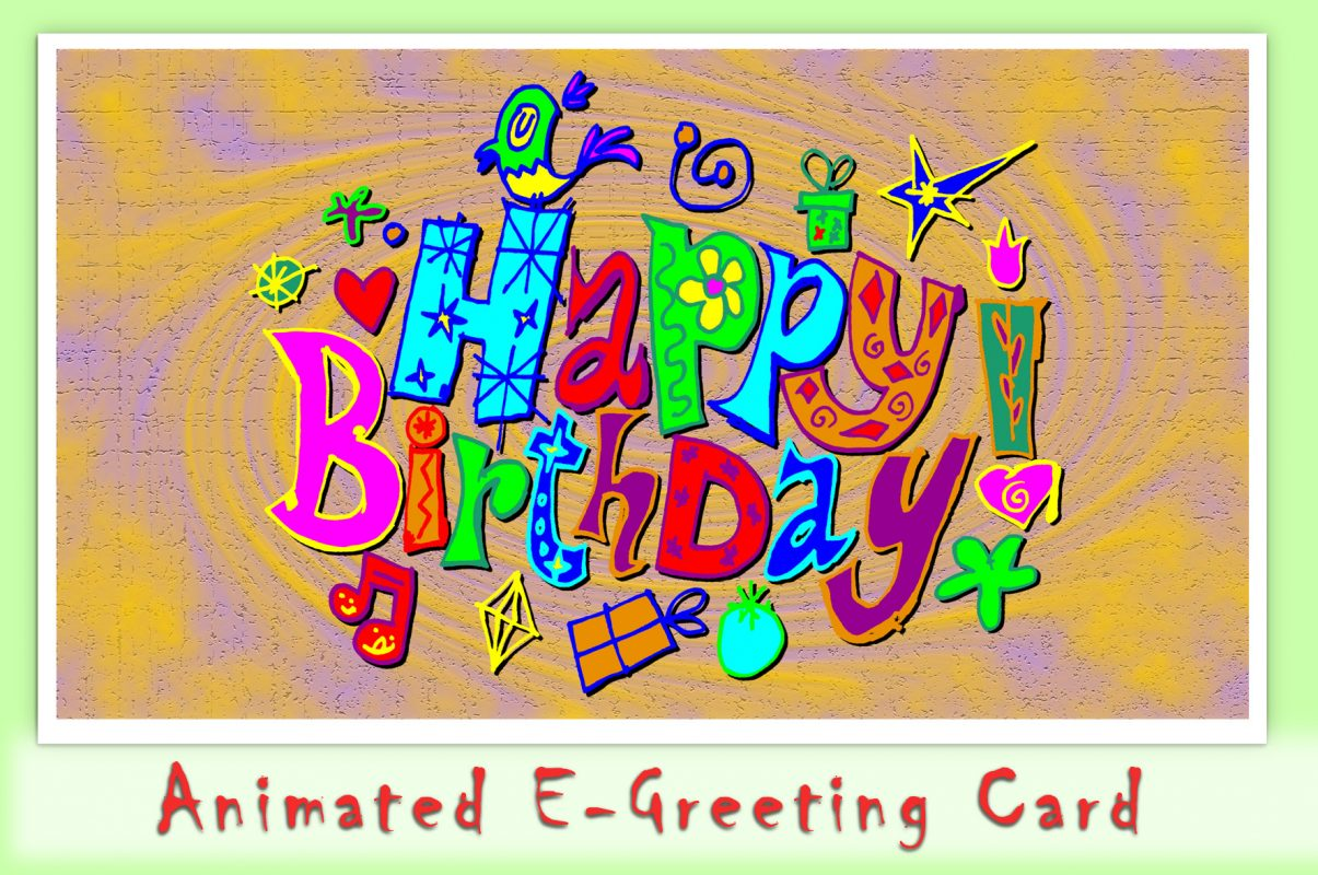 ZombieForia Animated E Greeting Card