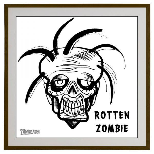 Rotten Zombie©ZombieForia™Art Print