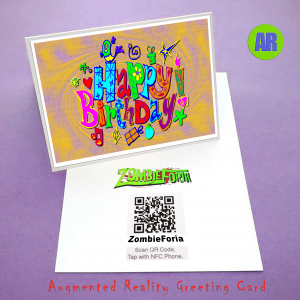 ZombieForia ™ Printed Greeting Card